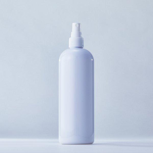 フィンガースプレー白+500mlPETボトル容器白100本セット(ロット1000本以上)