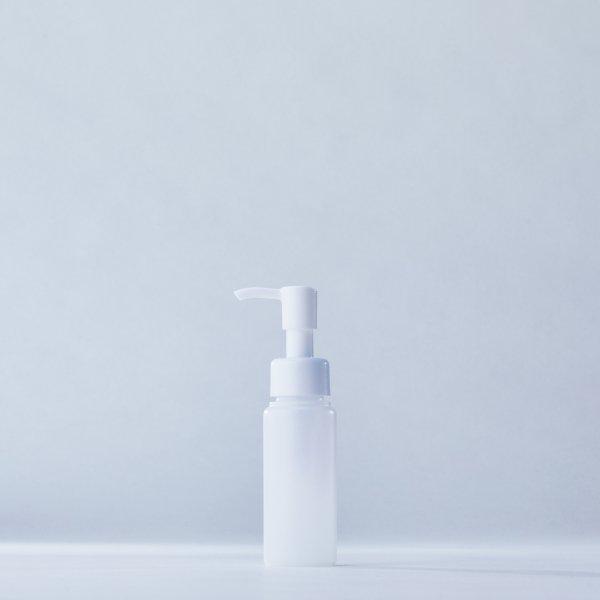 ストッパータイプ1ccポンプディスペンサー白+60mlPEボトル容器(100本セット)