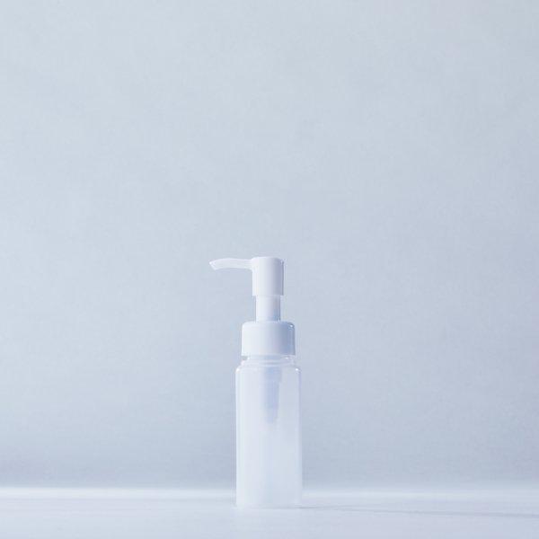 ストッパータイプ1ccポンプディスペンサー白+60mlLDPEボトル容器(100本セット)