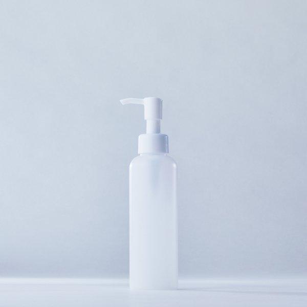 ストッパータイプ1ccポンプディスペンサー白+150mlPEボトル容器 Rタイプ(100本セット)