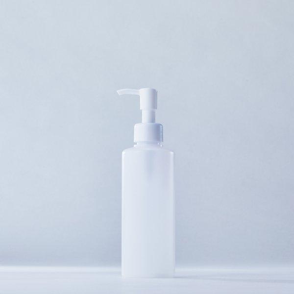 ストッパータイプ1ccポンプディスペンサー白+200mlPEボトル容器(100本セット)