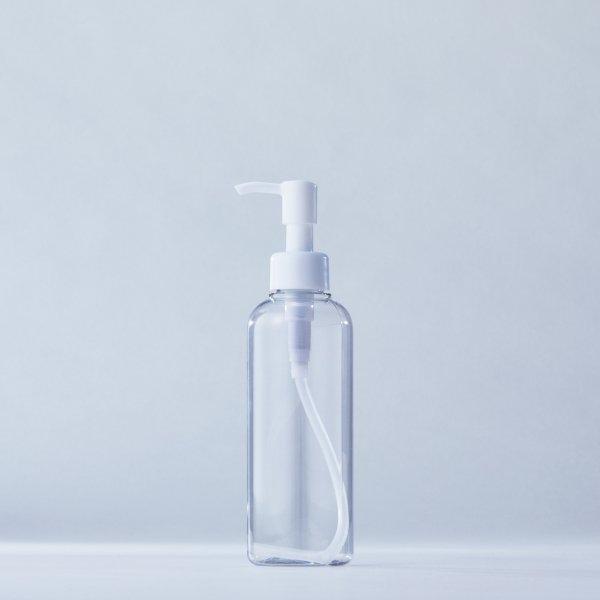 ストッパータイプ1ccポンプディスペンサー白+200mlPETボトル容器(100本セット)