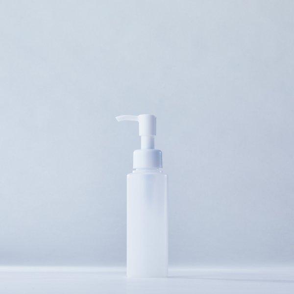 ストッパータイプ1ccポンプディスペンサー白+100mlPEボトル容器100本セット(ロット1000本以上)