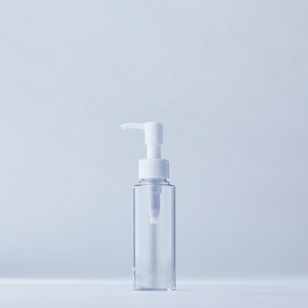 ストッパータイプ1ccポンプディスペンサー白+100mlPETボトル容器100本セット(ロット1000本以上)
