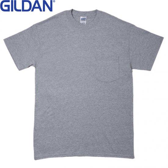 6oz ウルトラコットンポケットTシャツ/GILDAN2300