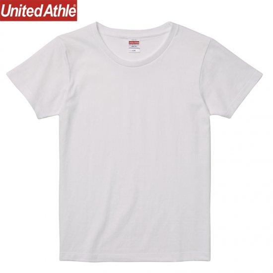 5.6oz ハイクオリティー Tシャツ ガールズ/UniteAthle5001