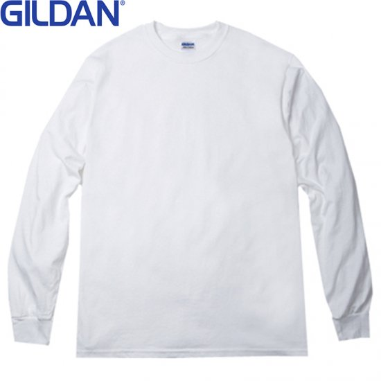 6oz ウルトラコットン ロングスリーブ Tシャツ/GILDAN2400