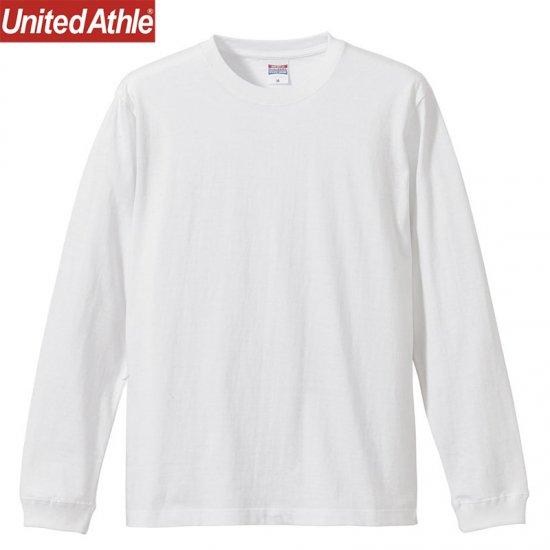 5.6oz ロングスリーブTシャツ (1.6インチリブ付)/UnitedAthle5011