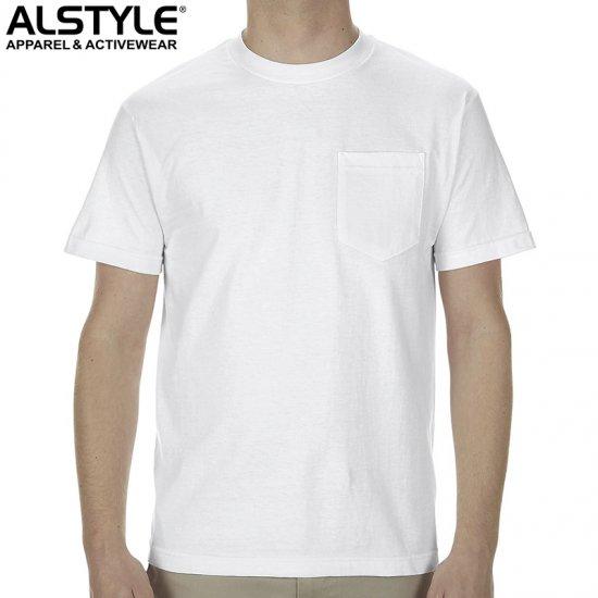 6oz ポケットTシャツ/ALSTYLE1305