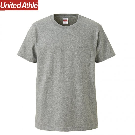 7.1oz オーセンティック スーパーヘヴィーウェイト ポケットTシャツ/UnitedAthle4253