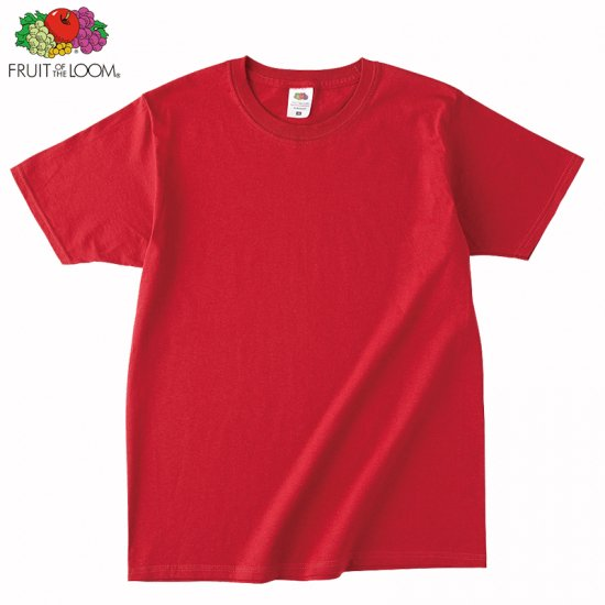 4.8oz フルーツ ベーシックTシャツ/FRUIT OF THE LOOM J3930HD