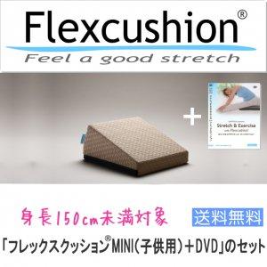 【子供用】「フレックスクッションMINI+DVD」のセット