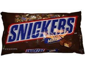 SNICKERS スニッカーズ ミニチュア ピーナッツチョコレート 1020g コストコ COSTCO