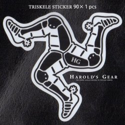 【Harold's Gear 】Triskele Sticker Set