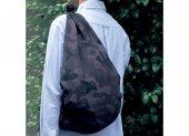 【撥水風呂敷】アクアドロップ アウトドア(カモフラ・ブラック)(約100cm)