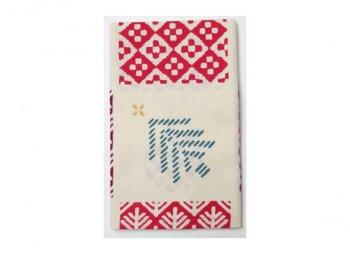 てぬぐい クリスマス刺繍/かまわぬ