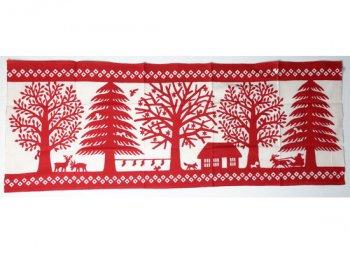 てぬぐい 森のクリスマス/かまわぬ