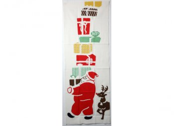 てぬぐい サンタのプレゼント/かまわぬ