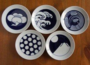 KOMON小紋 豆皿5種セット(季節)/キハラ KIHARA