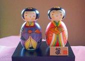 こけし飾り 雛人形 (卯三郎こけし)/中川政七商店【送料無料】