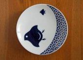 KOMON小紋 豆皿(波千鳥)/キハラ KIHARA