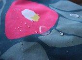 【撥水加工】竹久夢二アクアドロップ風呂敷(モスグリーン)(100cm)【撥水加工】