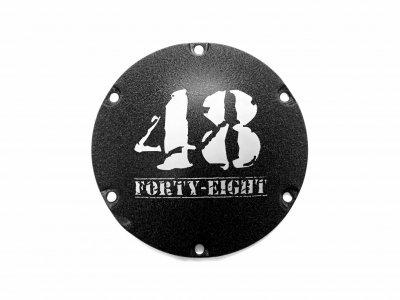 XL1200Xフォーティーエイト|リンクルブラックダービーカバー|Military48