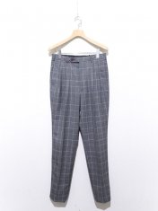 JOHNLAWRENCESULLIVAN GLEN CHECK PLEATED TROUSERS