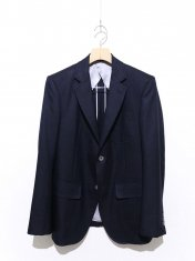 scye Silk Wool Oxford 2Botton Blazer