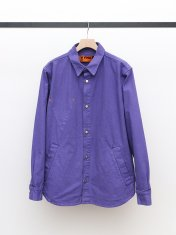 VYNER ARTICLES OVER SHIRT CANVAS