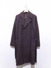 RAINMAKER TWEED WRAP COAT