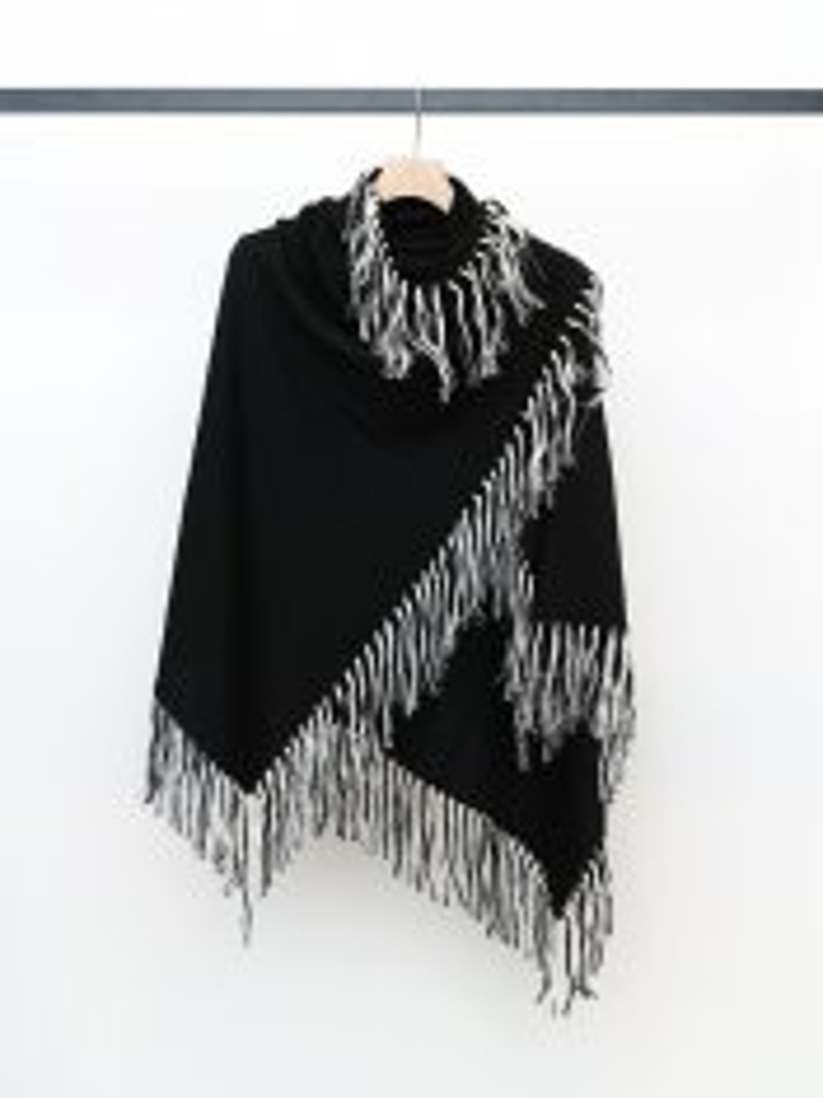 BED j.w. FORD Fringe silk scarf