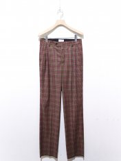 EDITIONS M.R PAUL HIGH WAISTED PLEATED PANTS
