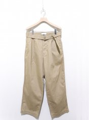 Graphpaper Military Cloth Belted Pant
