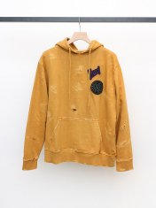 VYNER ARTICLES HOODIE DISTRESSED