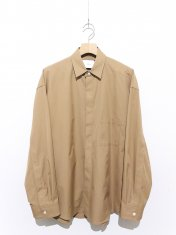 stein FLY FRONT SLEEVE OVERSIZED SHIRT