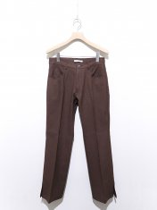 mill SIDE SLIT STA-PREST PANTS