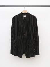 BED j.w. FORD Stand Collar Stripe Jacket