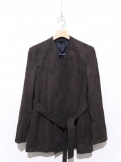 RAINMAKER for Unlimited ECO SUEDE  BELTED JACKET
