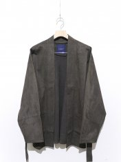 RAINMAKER ECO SUEDE BELTED JACKET