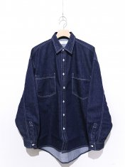 Graphpaper Denim Regular Collar Shirt