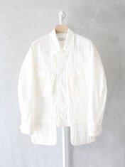 "PHEENY ""Cotton nylon tussah fatigue jacket"""