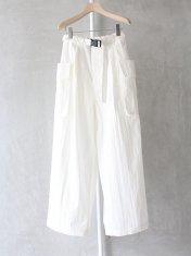 "PHEENY ""Cotton nylon tussah military pants"""
