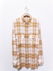 BED j.w. FORD Over Sized Check Blouse