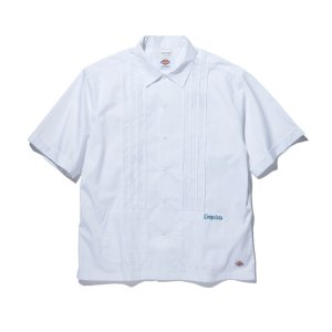 RADIALL×Dickies LADE BACK -OPEN COLLARED SHIRT S/S-White