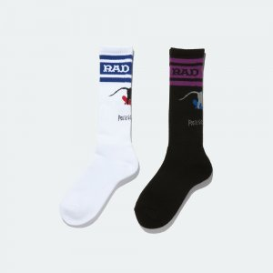 Radiall × POSSESSED SHOE.CO [ 2PAC SOX - SKATE RAT ]
