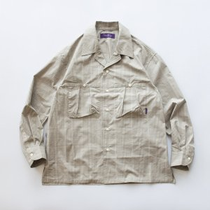 BUNTEN EXCLUSICVE 「CRAIG - オープンカラーシャツ」