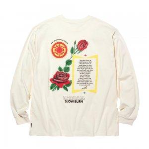 RADIALL 「SLOW BURN - L/S クルーネックTシャツ」