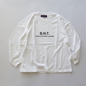 BUNTEN EXCLUSIVE 「B.N.T LS - L/SクルーネックTシャツ」