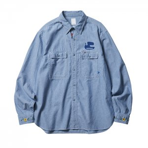 Liberaiders 「PEACE CHAMBRAY SHIRT」